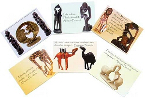 African Proverb Postcards