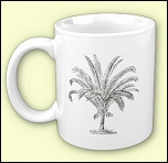 Senegal Date Palm Mug