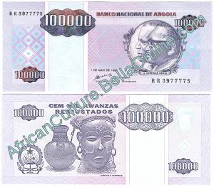 100000 Angolan Kwanzas