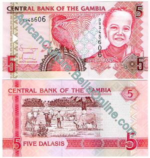5 Gambia Dalasis