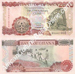 2000 Ghanaian Cedis