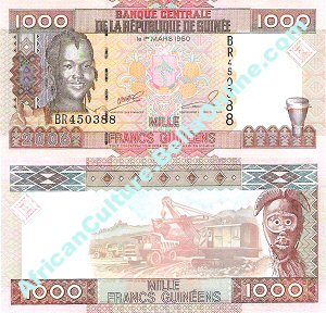 1000 Guineaan Francs