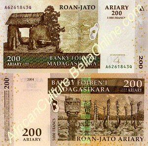 200 Malagasy Ariary