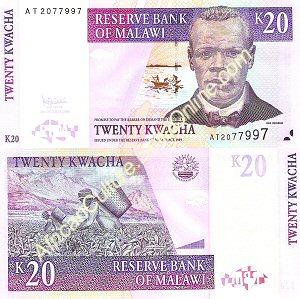20 Malawian Kwacha