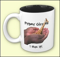 Pygmy Giraffe Mug